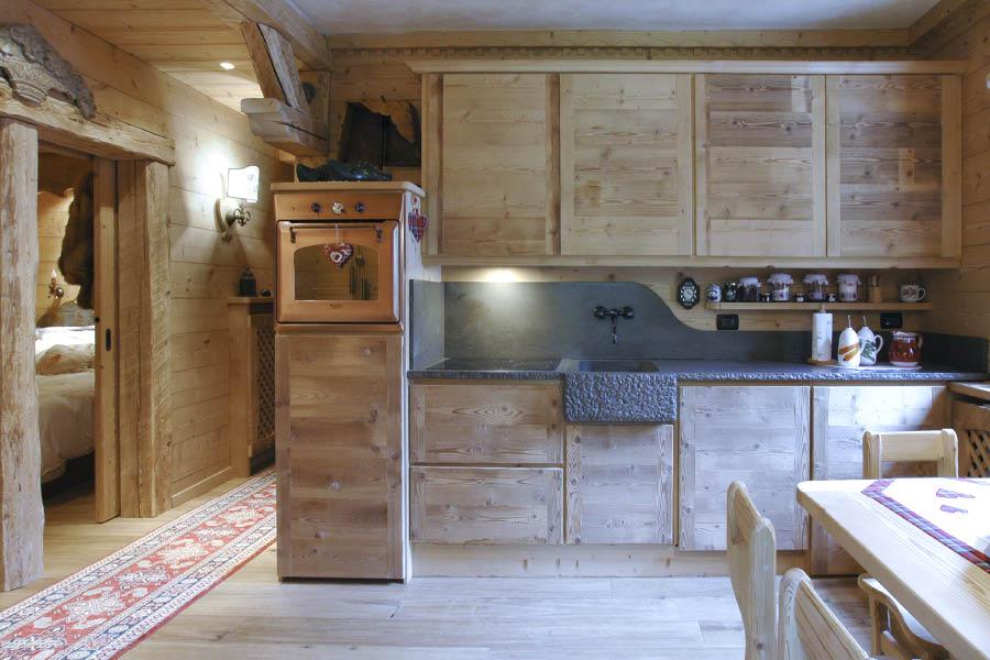 Falegnameria hermann casa monte civetta - Cucine di recupero ...