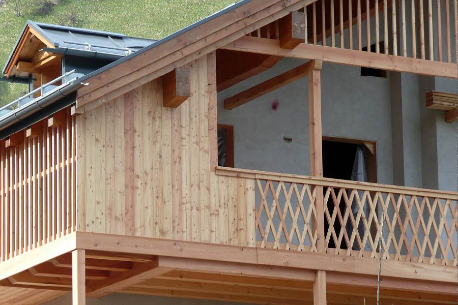 Falegnameria hermann esterni - Rivestimenti balconi esterni ...