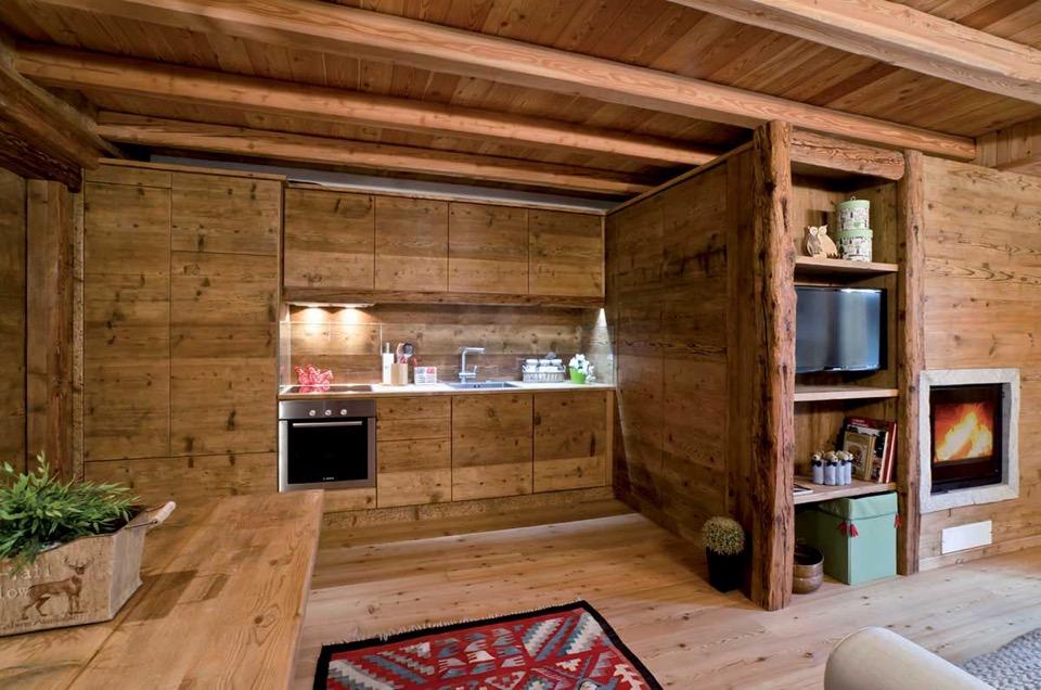 Cucine Di Montagna Arredamento. Di Qualit Case Di Montagna ...